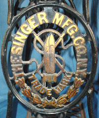 Singer No. 12  Stand Detail